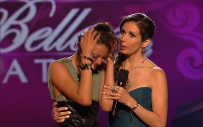 Naomi Marroquín fue la cuarta eliminada en Nuestra Belleza Latina 2012