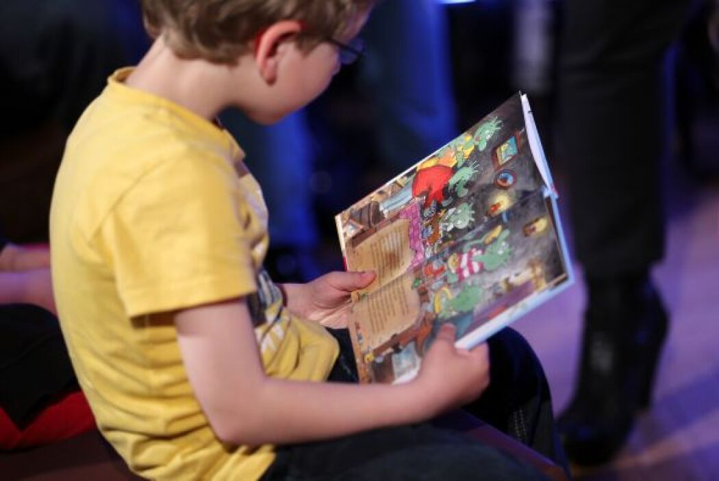 VISITA LA BIBLIOTECA - Tu hijo puede descubrir uno de sus nuevos cuentos...