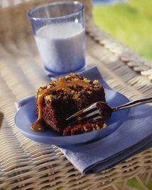 Pastel con Nueces y Chispas de Chocolate: Un pastel delicioso para toda...