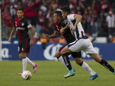 Desde los primeros minutos del partido, Monterrey salió a buscar...