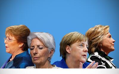La coincidencia en el corte y el peinado de las mujeres del poder.