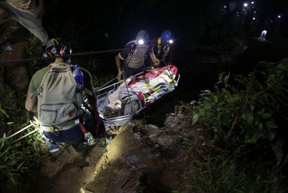 El Gobierno de Nicaragua fijó en 27 los mineros atrapados con base en re...
