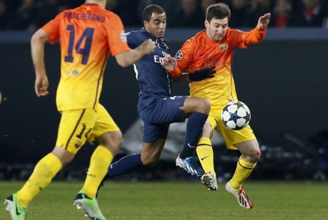 El París Saint Germain recibió al Barcelona en la ida de cuartos de fina...
