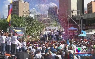 Con posibilidades de victoria la oposición en Venezuela
