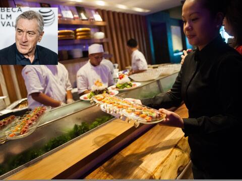 De Niro, padrino de la 'haute cuisine'