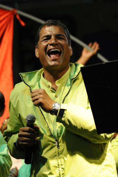 Si esto ocurriera, Correa sumaría su sexta victoria electoral en línea d...