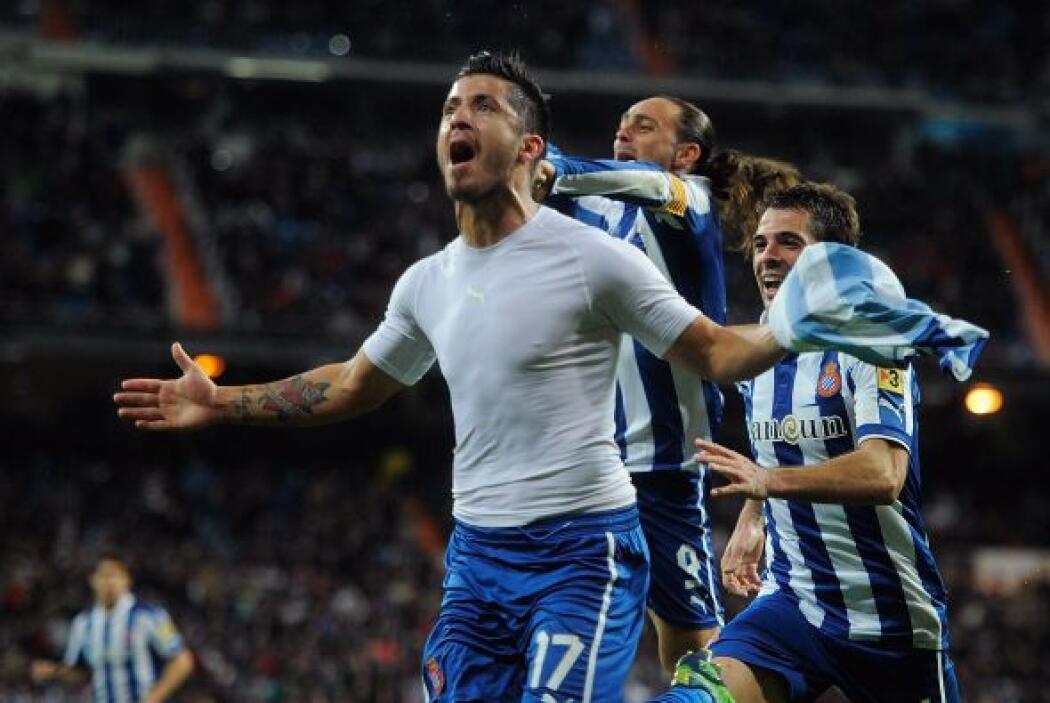 El del Espanyol de Barcelona salvó a su equipo en el mismísimo Santiago...