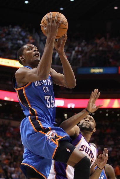 6. El #35 de los Oklahoma City Thunder, Kevin Durant.