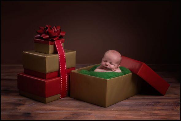 ¡Feliz Navidad! Tal vez te llegue un regalo de este tamaño.