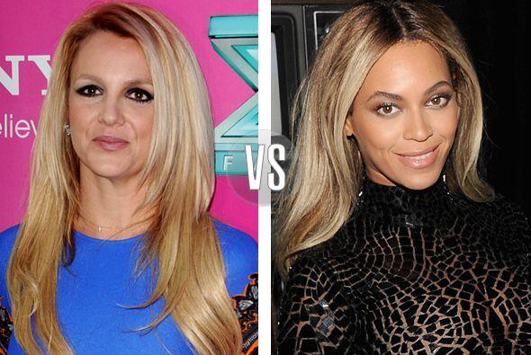 Beyoncé y Britney Spears nacieron el mismo año, las dos ca...