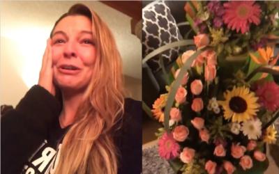 Marjorie de sousa flores cumpleaños