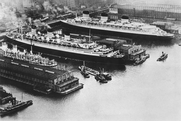 """Apariciones en el barco """"Queen Mary"""".-  Conocida y céle..."""