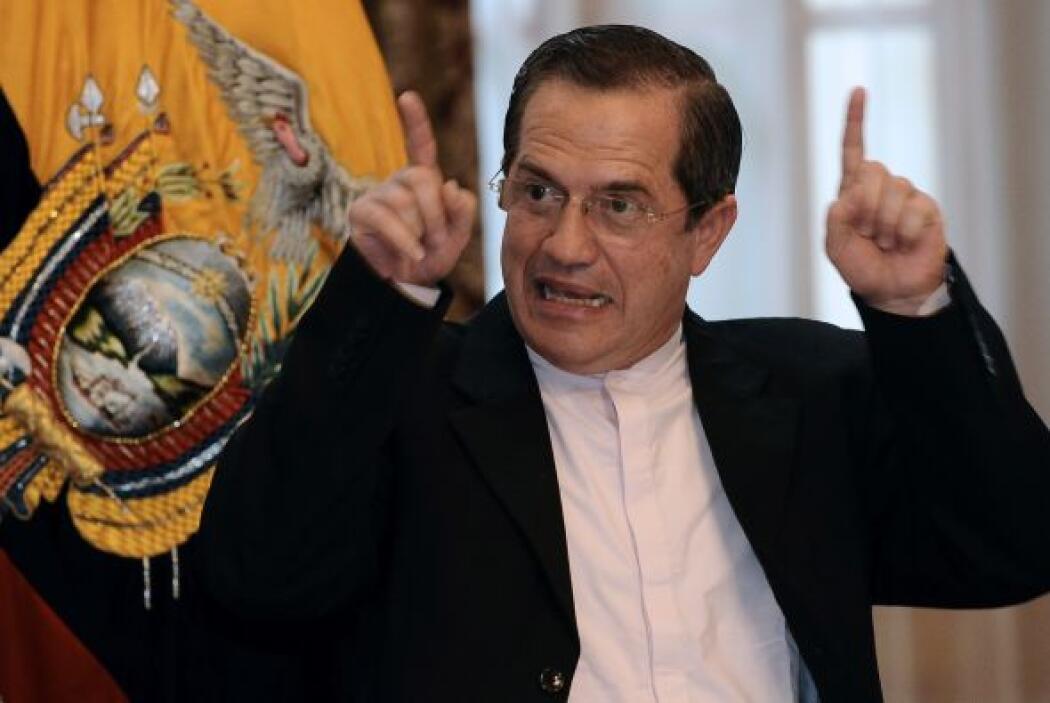 Patiño denunció que el cable de WikiLeaks 'tiene una serie de informacio...