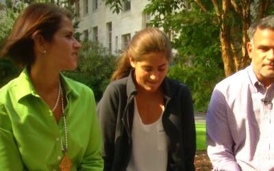 Maity Interiano registró la historia de fe de una familia que logró el m...