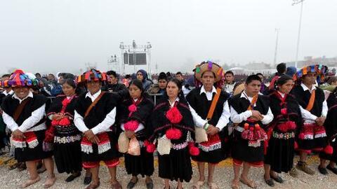 Comunidad indígena de San Juan Chamula (Archivo)