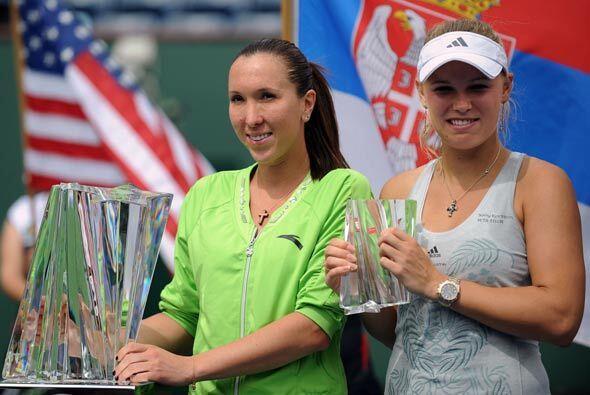 Al final de cuentas, en pleno deportivismo ambas competidoras estaban fe...