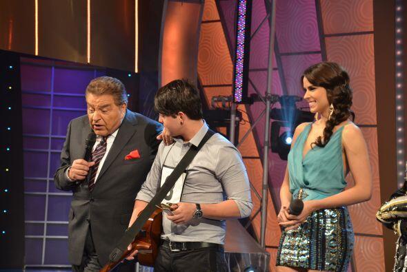 El ganador resultó muy buen músico, porque de sentido de la alegría, bue...
