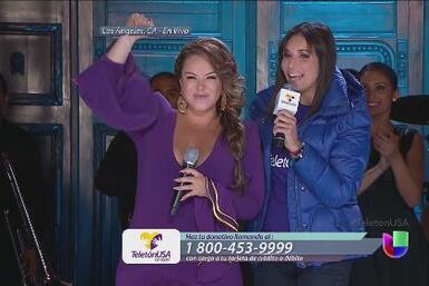 Teletón USA, Chiquis mostró ser un corazón con gente y nominó a Luis Cor...