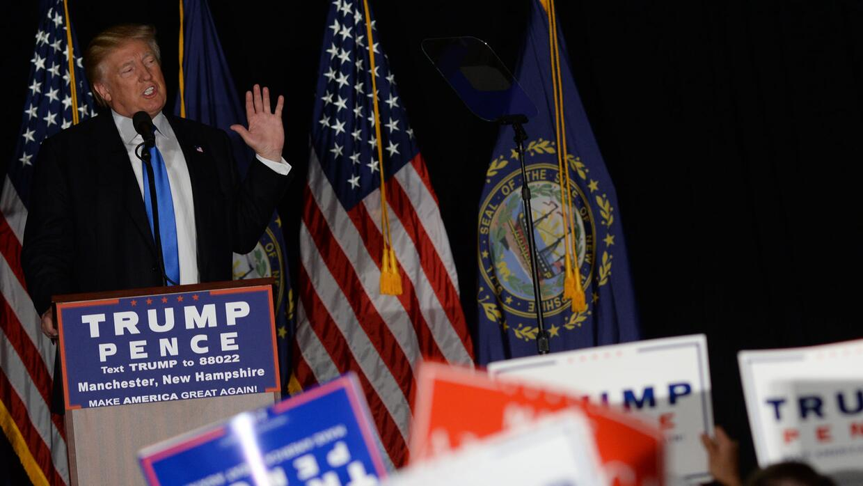 Donald Trump pide a jóvenes hispanos y afroamericanos conservadores que...