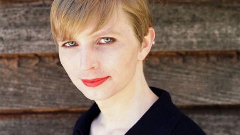La nueva imagen de Chelsea Manning.