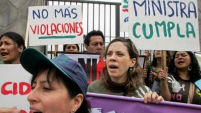 La violencia contra las mujeres en Argentina aumentó, denunció una ONG.
