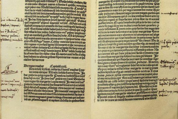 """En el escrito, Colón se refiere a la monarca como """"Cristianísima reina""""...."""
