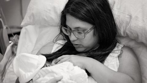Hace diez meses nació Joaquín, el segundo hijo de Carla Ca...