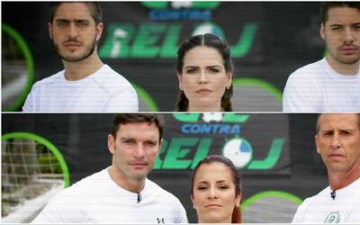 Gol contra reloj: los talentos de Univision se enfrentaron desde los 12...