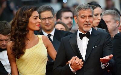 George y Amal Clooney serán padres de gemelos