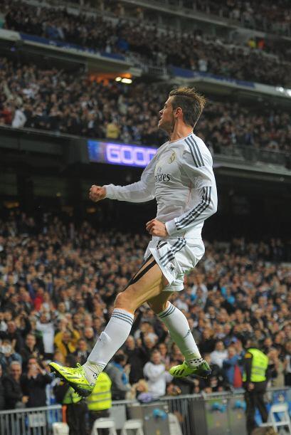 El mediático fichaje madridista Gareth Bale inauguraba el marcador.