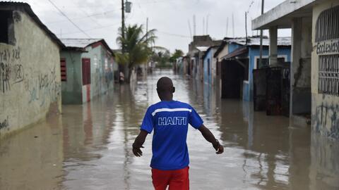 La zona de Cité Soleil, en Puerto Príncipe, después...