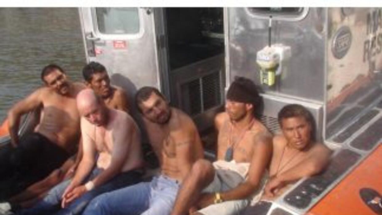 Los seis reos fueron recapturados después de haber recorrido varias mill...