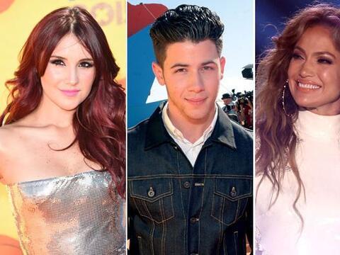 Dulce María, Nick Jonas y Jennifer Lopez (¡con Casper!) se...