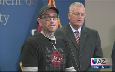 Reconocen a hombre que salvó la vida de un agente sobre la I-10
