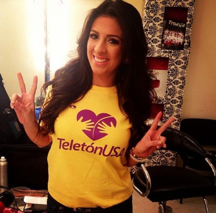 """""""¡Ya con la camiseta @teletonusa! Tú ya eres #HeroesconCorazon? Recuerda..."""