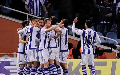 Real Sociedad ganó como visitante al Osasuna.
