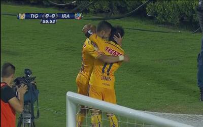 Tigres le gana a Irapuato en la Copa MX