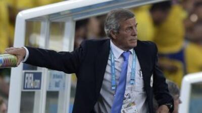 Tabárez destacó la calidad de la Selección de Colombia.