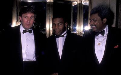Trump y Tyson compartieron juntos más de una lucha.