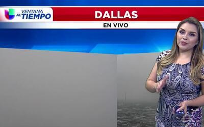 'Dallas en un Minuto': día con posibles aguaceros y tormentas, el pronós...
