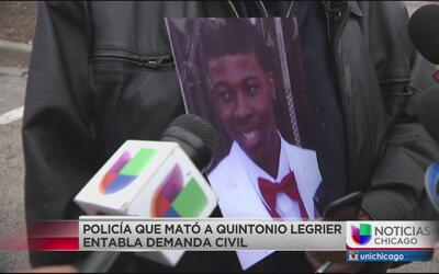 Policía que disparó a Quintonio LeGrier y Bettie Jones entabla demanda c...