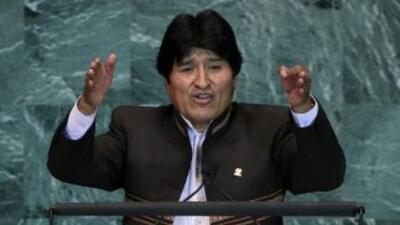 El presidente boliviano asegura que lo que unos gastan en vicios otros l...