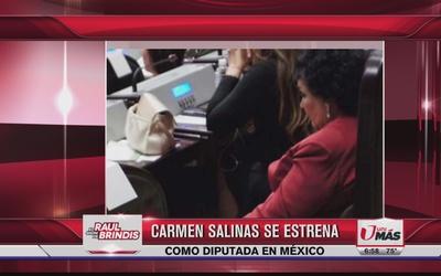 Carmen Salinas se estrena como dibutada, ¡durmiendo!