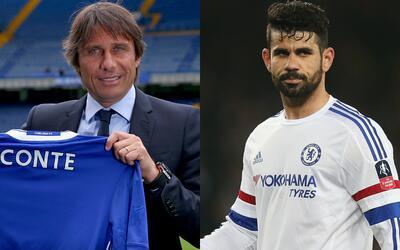 """Conte: """"Diego Costa se queda en el Chelsea"""""""