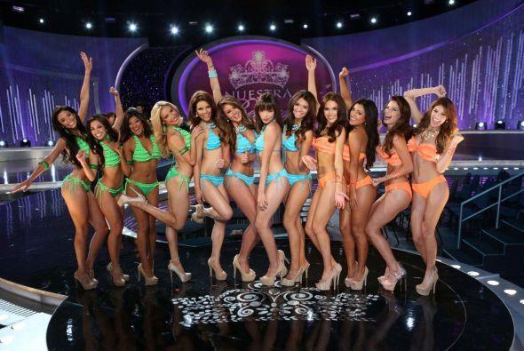 Les presentamos a las 12 bellas que lograron su objetivo y quedaron en e...