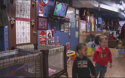 Una guardería dedicada a los fanáticos más jóvenes de los Blackhawks