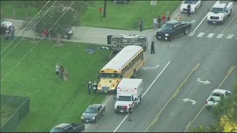 Accidente autobús del Distrito Escolar de Dayton
