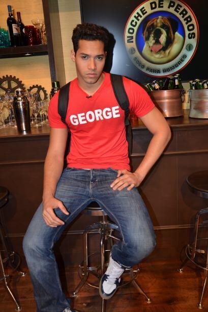 George era el mayor de la competencia pero todos coincidieron en que era...