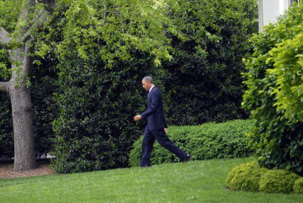 En semanas y meses recientes, Obama ha tenido que atender otros temas, c...