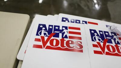 Urnas de votación en New Hampshire